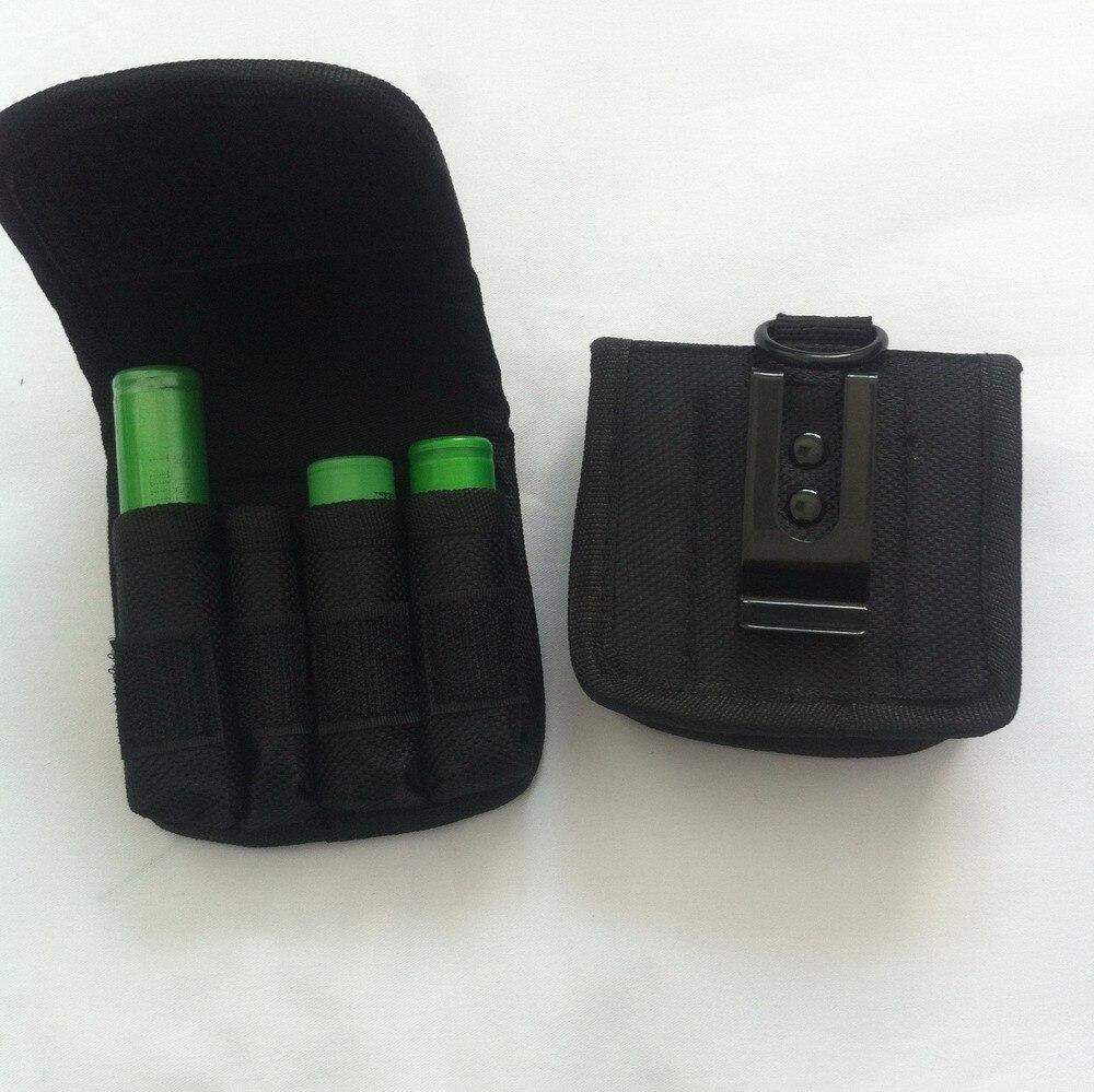 18650 acolchado batería funda protectora dura caja de almacenamiento bolsa
