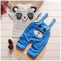 2016 New Summer baby sets boys clothes cotton o-neck shorts with character print children toolders clothing set suit A122-A159