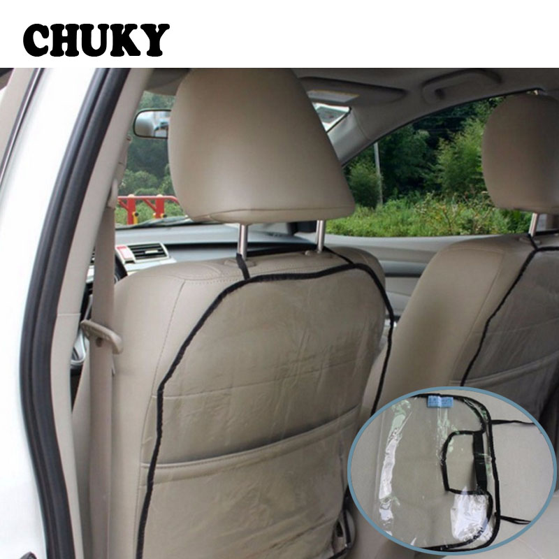 CHUKY Universal Car Anti Child Kick Pad Backseat Protector Cover Mat Anti Stepped Dirty For <font><b>Kia</b></font> rio ceed sportage 2017 Chevrolet image