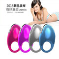 DIBE Male Vibrating delay Penis Ring 20 Speeds USB charging Waterproof  Female Clitoral Stimulation Adult sex toys for Men