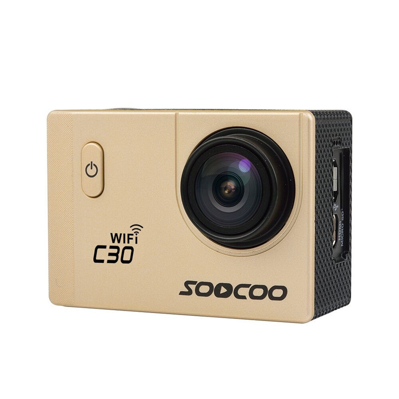 SOOCOO C30 Wifi 4K Gyro Adjustable Viewing angles(70-170 Degrees) 2.0 LCD NTK96660 Diving 30M Waterproof Action Sport Camera soocoo c30 sports action camera wifi 4k gyro 2 0 lcd ntk96660 30m waterproof adjustable viewing angles