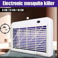 18W LED Electric Mosquito Insect Killer Fly Bug Zapper LED Light Trap Lamp Pest Control 225x155x45mm Outdoor Garden Repeller