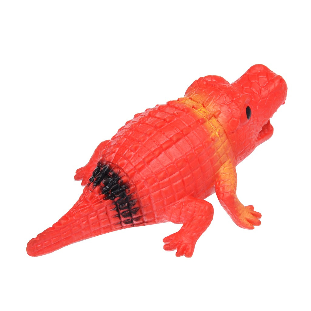 Crocodile Pops Out Leg if Squeeze 14cm Stress Relief Funny Toys 4