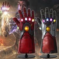 Светодиодный светильник Железный человек Бесконечность гаунтлет Мстители эндигра Косплей рука танос гаунтлет латексные перчатки руки суп...