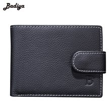 Fashion New Coin bag PU leather Wallet male purse clutch bag
