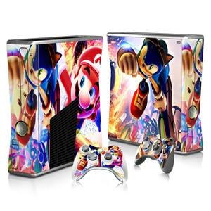 Image 5 - สำหรับซูเปอร์มาริโอสติกเกอร์ผิวรูปลอกสำหรับ Xbox 360 บางคอนโซลและคอนโทรลเลอร์สกินสติกเกอร์สำหรับ Xbox360 ไวนิลบางเบา