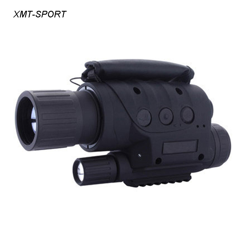 XMT-SPORT full dark hunting night vision reflescope monocular 4x 8x day night dual use video camera infrared night vision 1pc