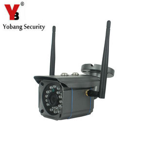 YobangSecurity Wifi Câmera IP Sem Fio Ao Ar Livre À Prova D' Água HD 720 P Câmera Dia e Noite Visão Remota de Vigilância Em Casa|wifi ip camera|home surveillance camera|wifi ip camera wireless -
