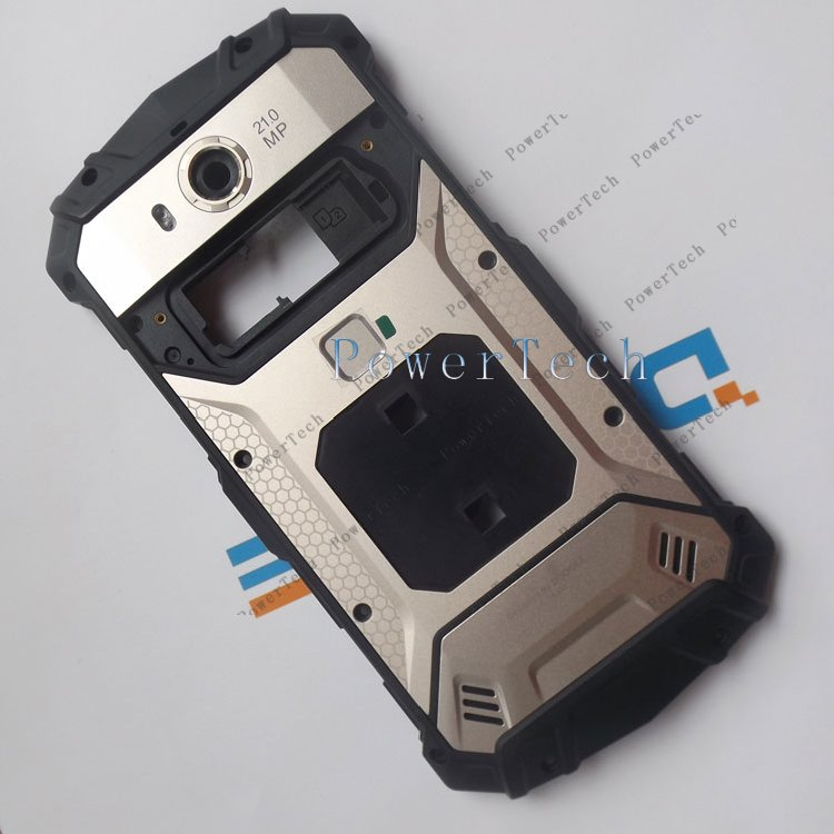 Image 2 - DOOGEE S60 Battery Door Cover Back Housing with Fingerprint  For DOOGEE S60 Cell Phone  Genuine Parthousing coverphone coverhousing s6 -