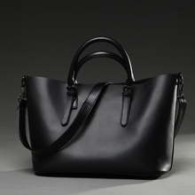 XIANJIAN Socialite Business Woman Elegant Tote Bag 2PCS Set Handbag of high quality faux leather