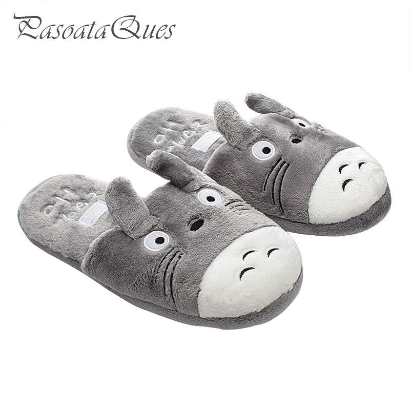Pasoataques Animal Home Slipper House Warm Winter Shoes