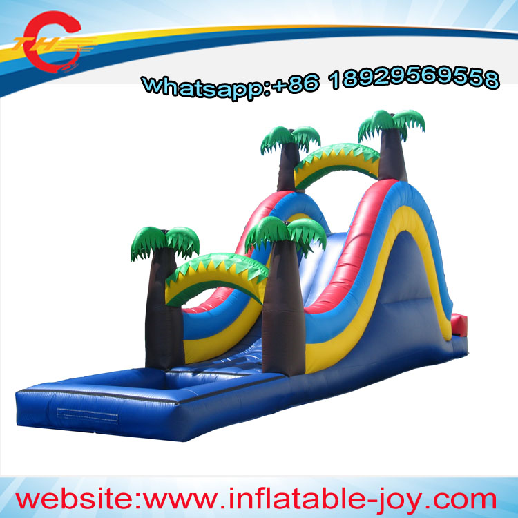 Inflatable Water Slide With Price: Free Air Shipping/ddu Price,commercial Giant Kids