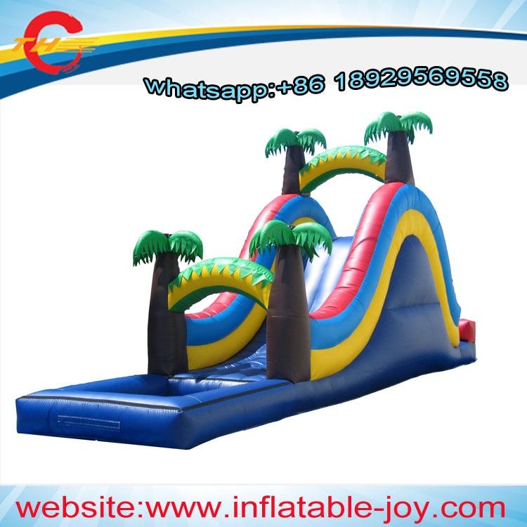 Inflatable Slide Pool Tesco: Free Air Shipping/ddu Price,commercial Giant Kids