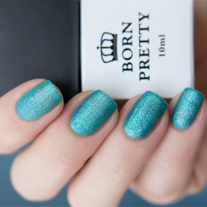 Born Pretty 1 Bottle 10ml Turquoise Blue Matte Uv Gel Polish Nail Art Soak Off Varnish 3926 In From Beauty Health On Aliexpress