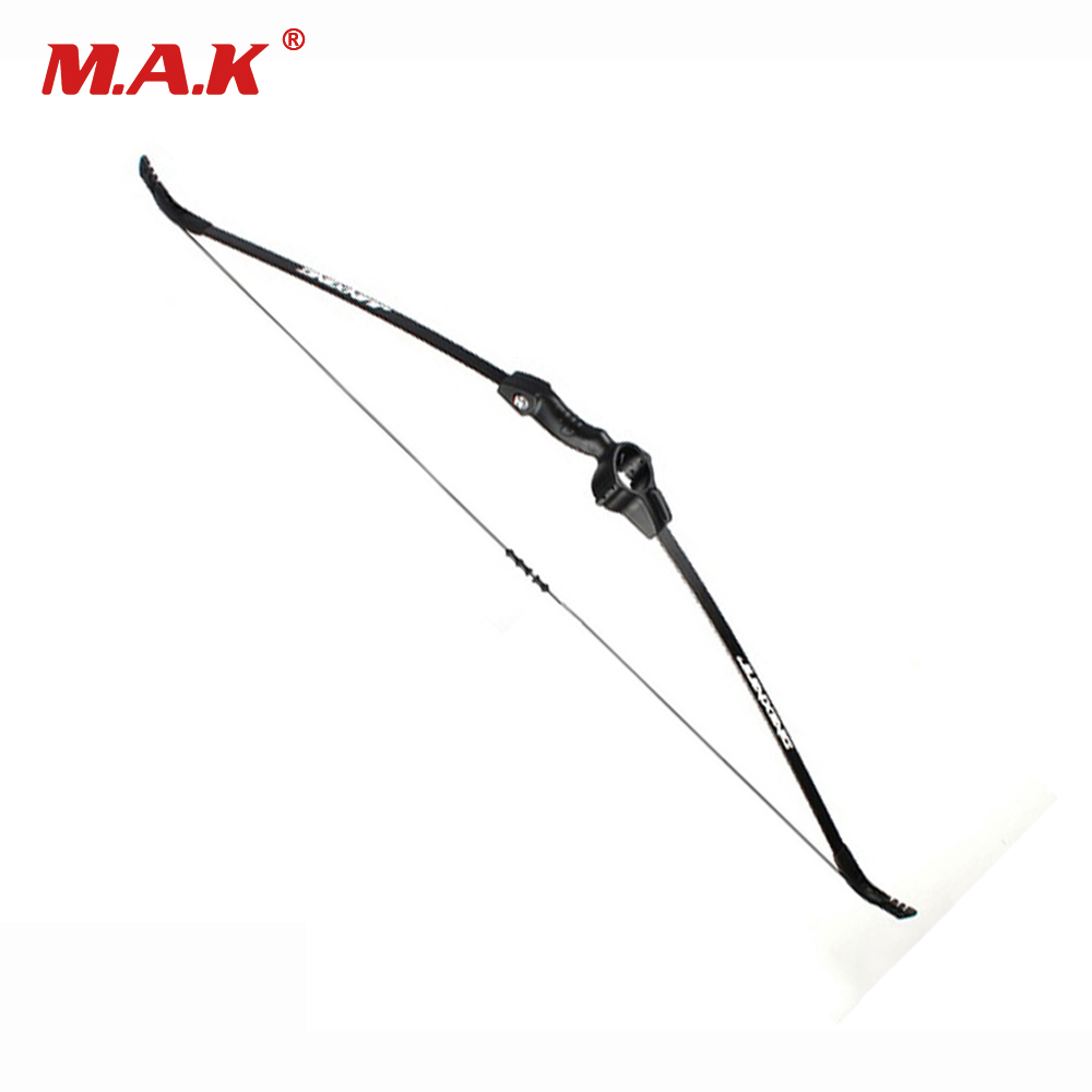15 Lbs Recurve Bow in Black for Children Right and Left Handed Training Toy Games Archery Hunting Shooting Practice recurve bow draw weight 15 lbs bow for children archery training toy games for practice