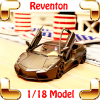 New Arrival Gift RVT 1/18 Model Metal Car Vehicle Scale Die cast Toys Sports Alloy Collection Metallic Decoration Fans Present