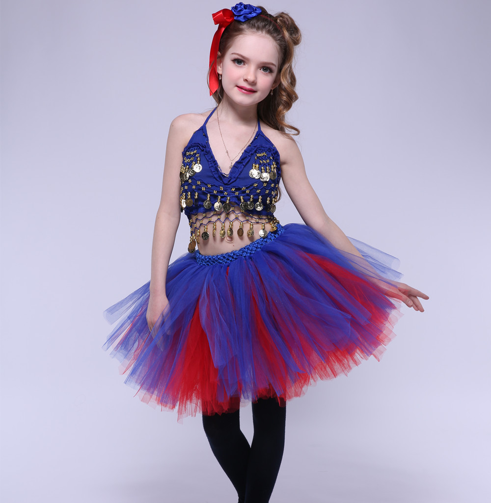 Girl Latin Dance Dress Kids Evening Party T-show Tutu Dress Knee Length Girl Sequined Costumes for Photos Latin Belly Dance dance legend red show 05 цвет 05