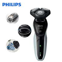 Philips Professional Electric Shaver S5080 Rotary Rechargeable Washable Wet&Dry Electric Razor With 3D Floating Heads