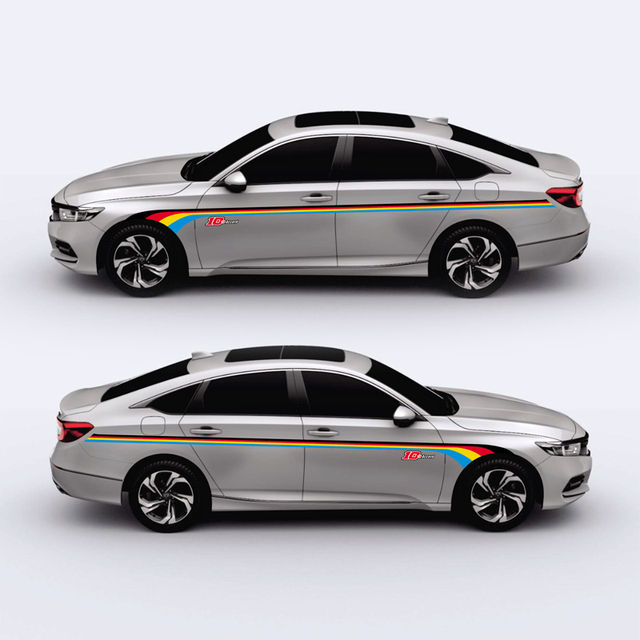 Taiyao Car Styling Sport Sticker For Honda Accord Accessories And Decals Auto
