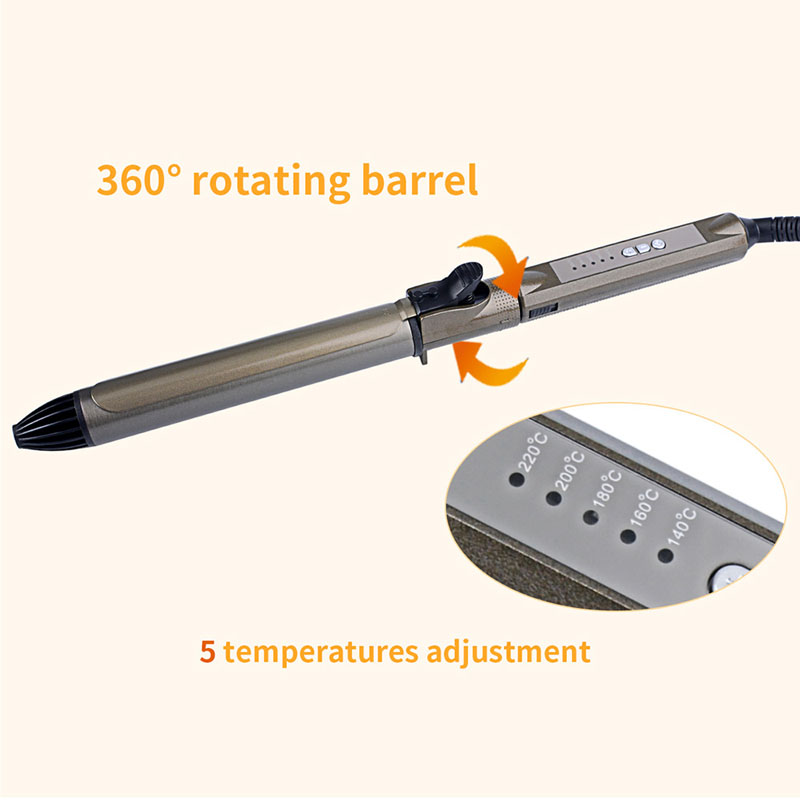 25/28mm  Electric Hair Curler 5 file Temperature adjustment Hair Curling Tongs Fast heating Professional Deep Wave Hair Waver 4225/28mm  Electric Hair Curler 5 file Temperature adjustment Hair Curling Tongs Fast heating Professional Deep Wave Hair Waver 42