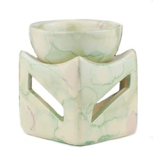 2017 New Ceramic Oil Burner 3 Colors with Candle Holder Large Capacity Aromatherapy Oil Furnace Without Candle W
