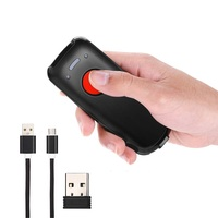 Mini Wireless Barcode Scanner Kompatibel mit Bluetooth Funktion CCD Barcode Scanner Reader für POS/Android/iOS/iMac /Ipad