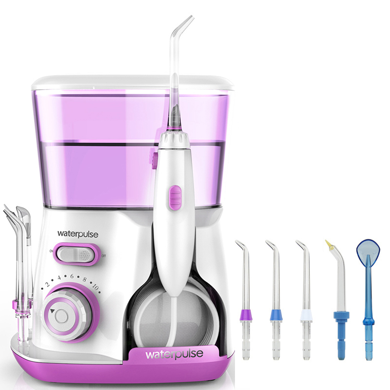 Waterpulse V300 Munddusche 800 ml Dentalirrigator Power Zahnseide Munddusche Wasser Flosser Zahn Flosser