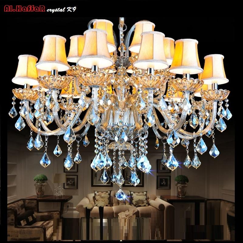 Crystal Pendant chandelier lighting Modern Room Chandeliers for Living room Lights Fixture Decoretion Luster fixtures
