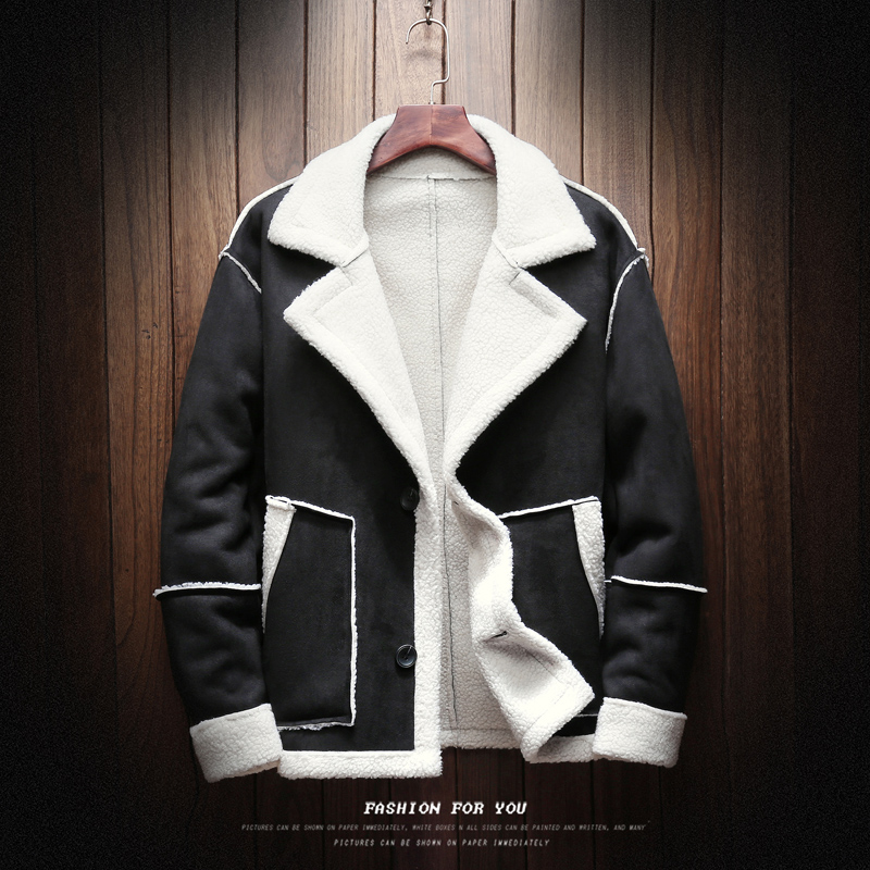Mens Winter Coats And Jackets Large Size Men Casual Warm Coats Winter Thicker Jackets Outwear Fur Collar Winter Parkas