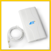 LF-ANT4G01 Indoor high gain  4G LTE MIMO Antenna with  2m cable  double Connector TS9 port