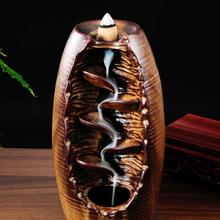 incense burner back slit edge creative view of Tower smoke stove Aloes wood furnace home fragrance oil