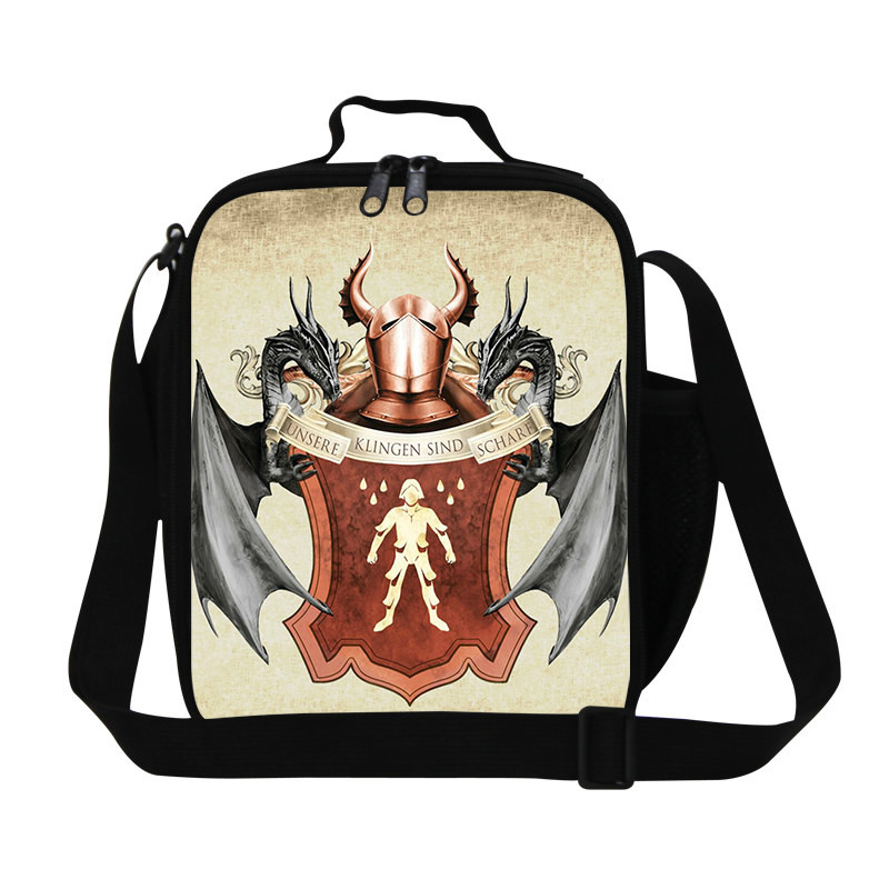 Game of Thrones Printed Sling Bags Unique Casual Bags Lunch Bag Box 6