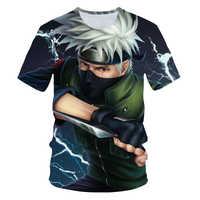 Naruto T Shirt MenJapan Style Space Anime Tshirt Hip Hop Tee Streetwear Punk Rock Clothes City Character 3d T-shirt Casual Cool