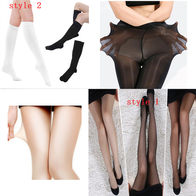 Elastic Magical Stockings Women Nylons Pantyhose Sexy Skinny Legs Tights Prevent Hook Silk Collant Medias 2