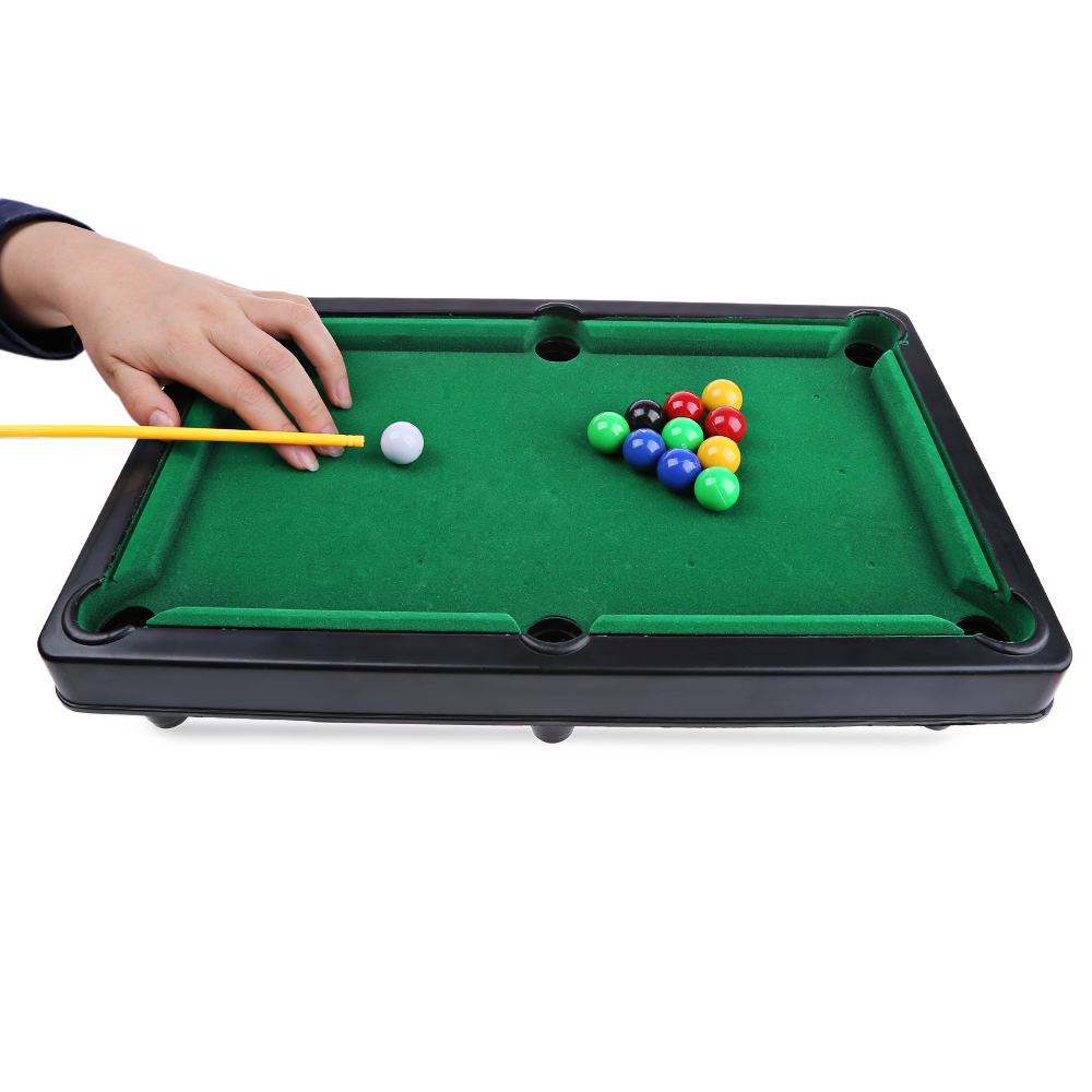 Mini Billiard Ball Snooker Pool Table Top Game Set Kids Toy Sports Funny Billiard Ball Game Toy Gift For Kids
