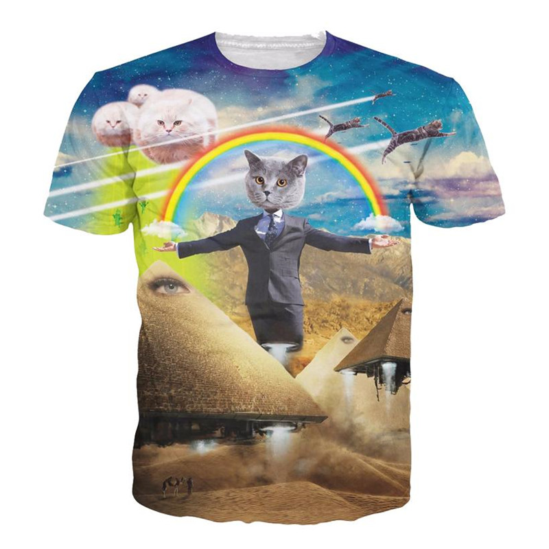 Solar Kitten, Space Cats, Vomiting Cat Women's Men's T-Shirts
