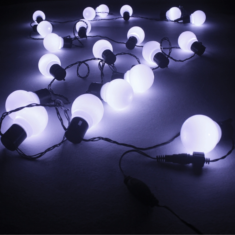 LED string lights Christmas Wedding photography Mantianxing decoration ball lit waterproof