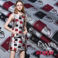 160x50 cm Importati Francia famosa marca borse stile Metallico Jacquard Brocade Fabric per le donne vestito da modo, abbigliamento per bambini