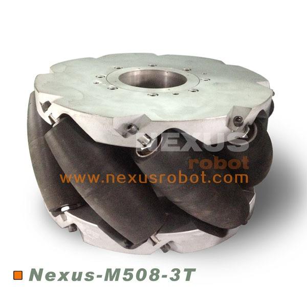 20 inci Berat Mekanik Mecanum Wheel Nexus-M508-3T (Memuatkan Kapasiti: 3 tan / pcs)