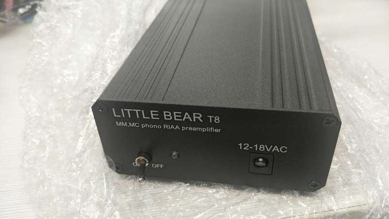 T8 préamplificateur phono magnétique Dynamique phonographe/MM/MC LP chanter bobine mobile préampli phono