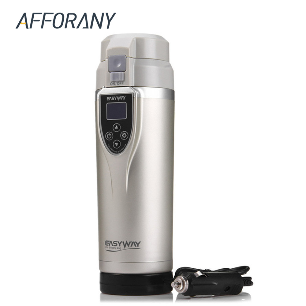 350 ml Auto Heizung Cup Wasserkocher Becher Auto Heizung Cup 12-24 v Kaffee Thermische Heizung Tassen Temperatur kochendem Wasser Flasche