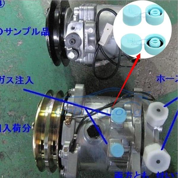 alta qualidade tampa da valvula auto ac refrigerante de poeira da valvula cap tampa tampa de