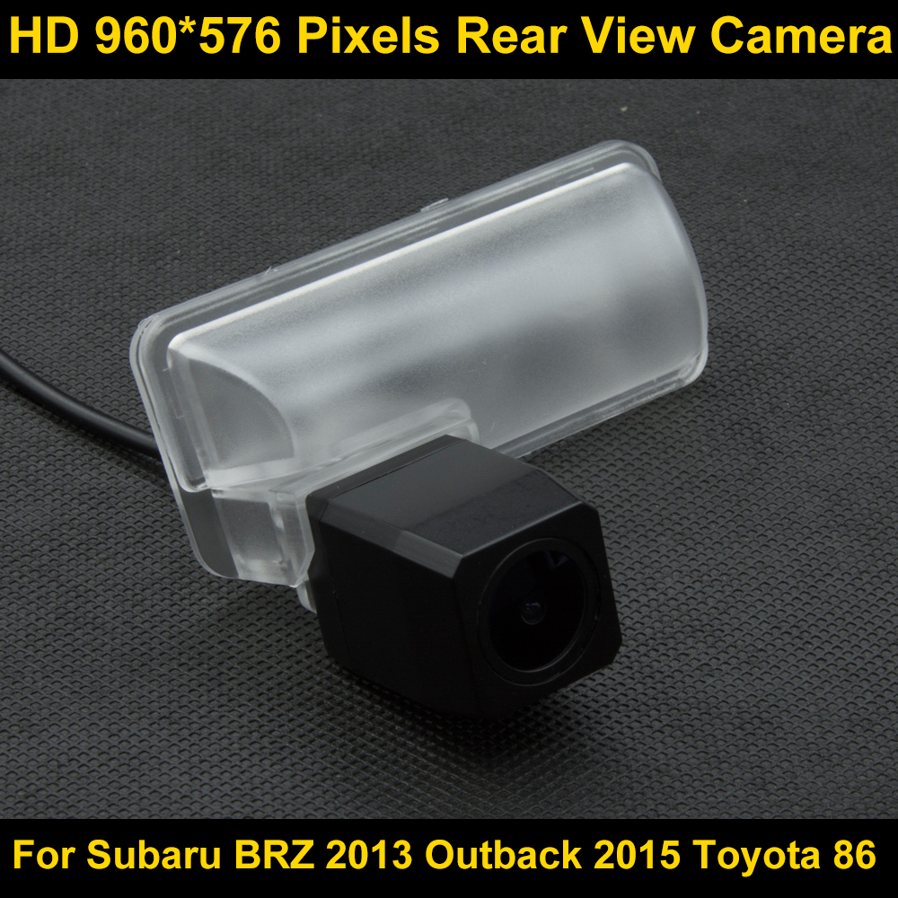 PAL HD 960*576 Pixels high definition Car Parking Rear view Camera for Subaru Forester 2013 Car Waterproof Backup Camera