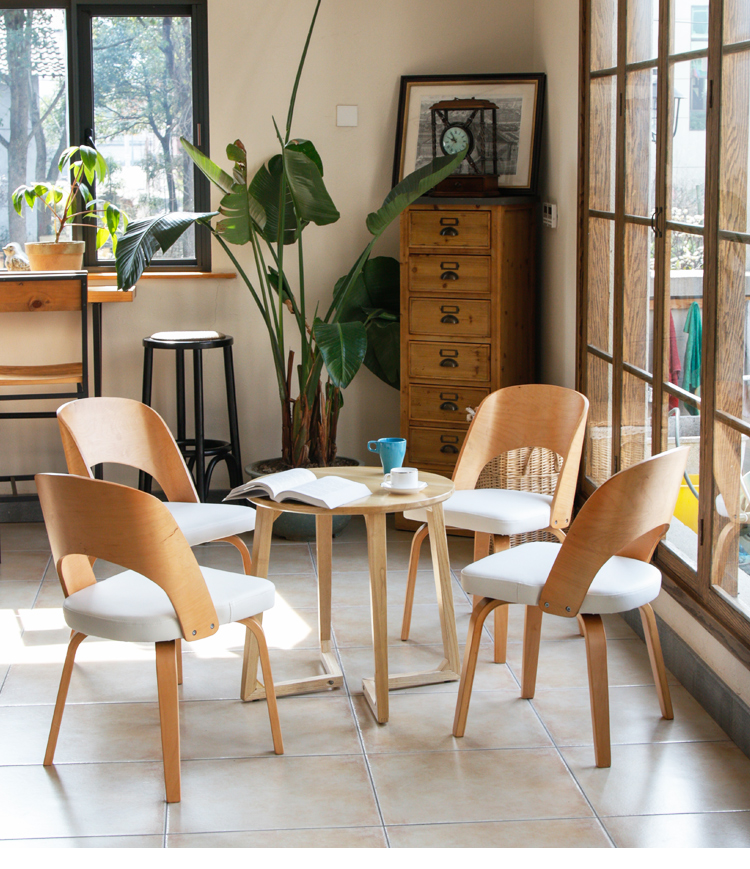 Fine New Fashionable Dining Chair Solid Wood Sitting Room Chair Beatyapartments Chair Design Images Beatyapartmentscom