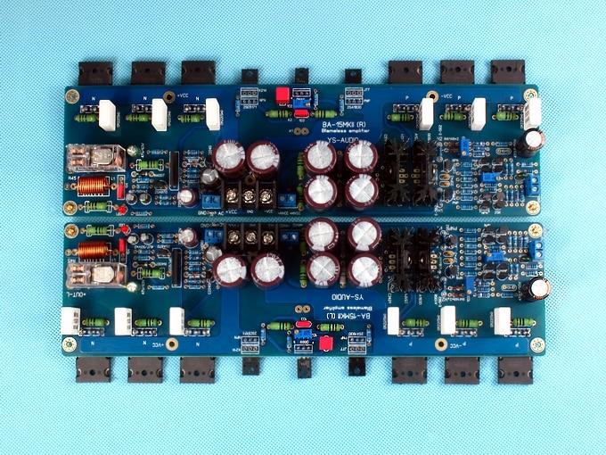KRELL KSA100 C5200/A1943 260W*2 Class AB power amplifier board 2sa1943 2sc5200 a1943 c5200