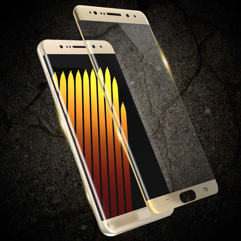 6D Full Cover Tempered Glass for Samsung Galaxy S6 S7 EDGE S8 S9 plus Colorful Coverage Screen Protector Toughened Glass Film
