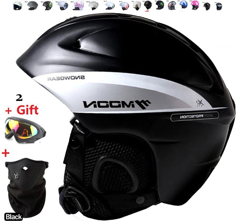 Prix pour Arrivent dans 18-39 jours! Ski casque Ultra-Léger et Moulée Intégralement professionnel Snowboard casque Unisexe Planche À Roulettes casque
