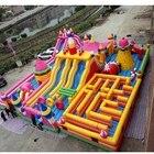 ✔  20   15 метров гигантский надувной веселый город  надувная игровая площадка в продаже 5k надувная по ①