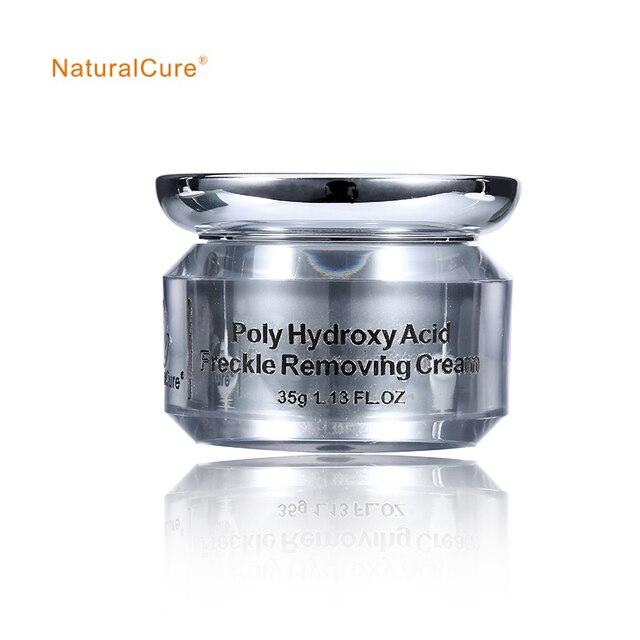 NaturalCure Поли Гидрокси Кислота Веснушки Снятие Сливок, предотвращения аллергии и неуютно, уменьшить воспаление, удалить шрамы