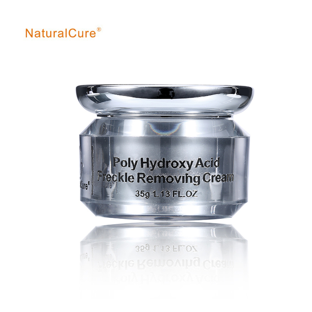 NaturalCure Poly Hydroxy Acid Freckle Removing Cream, prevent skin allergies and uncomfort, diminish inflammation, remove scars